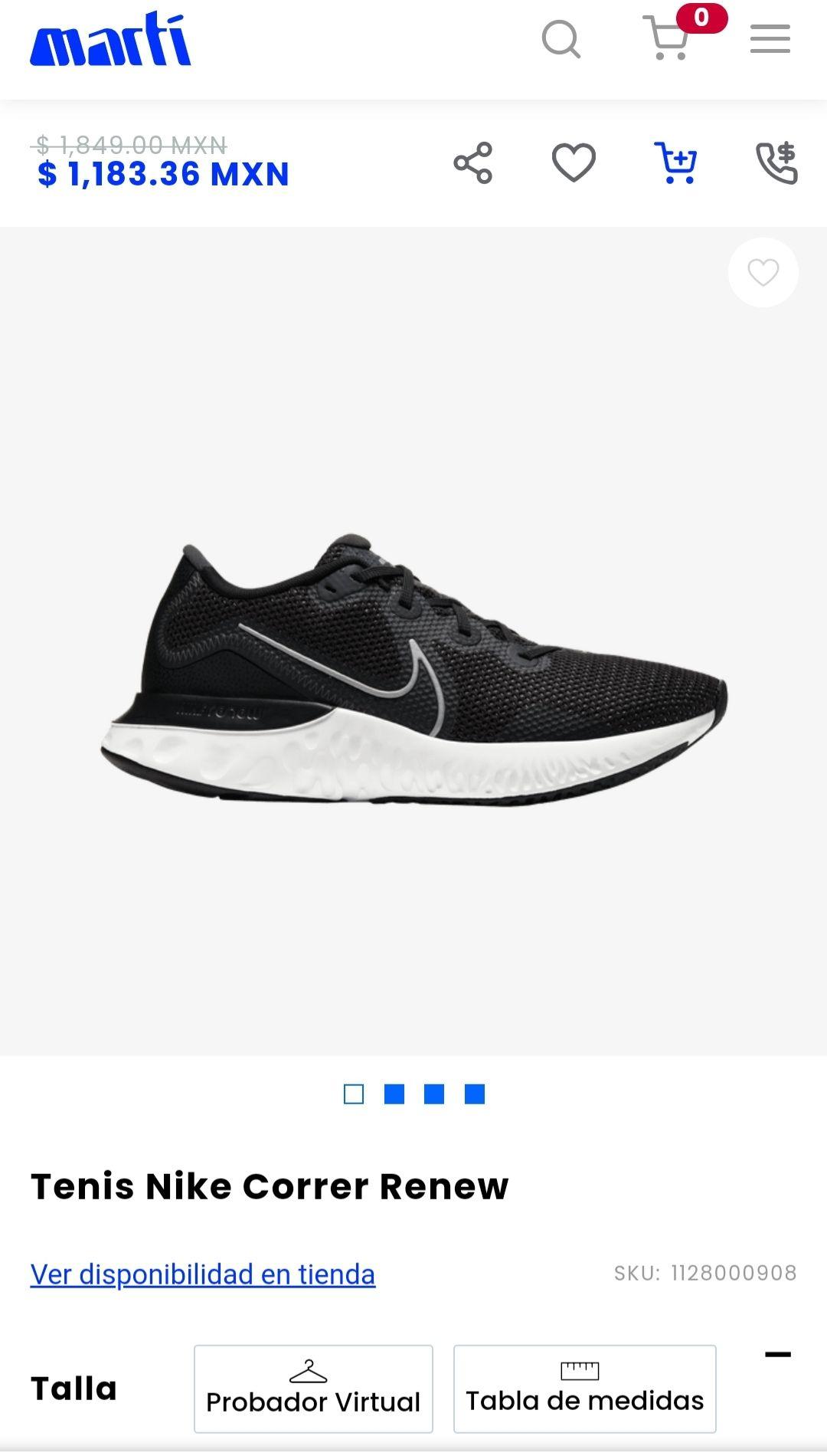 Martí: Tenis Nike Renew
