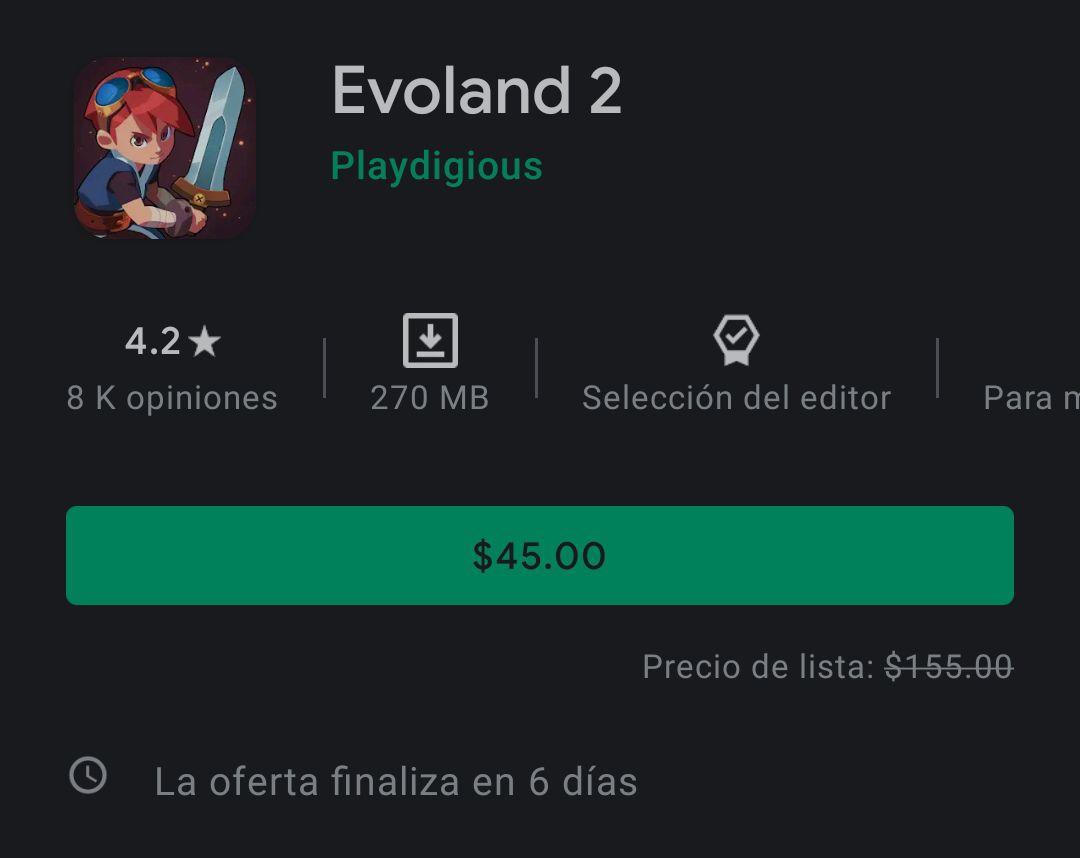 Google Play - Evoland 2