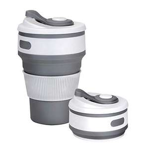 Amazon: Taza para agua plegable