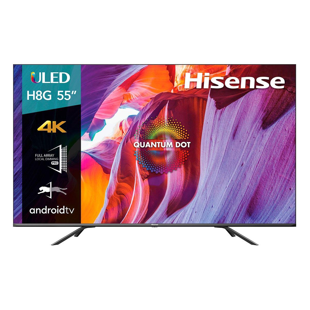 "Costco: Hisense Pantalla 55"" ULED Smart TV - 55H8G"