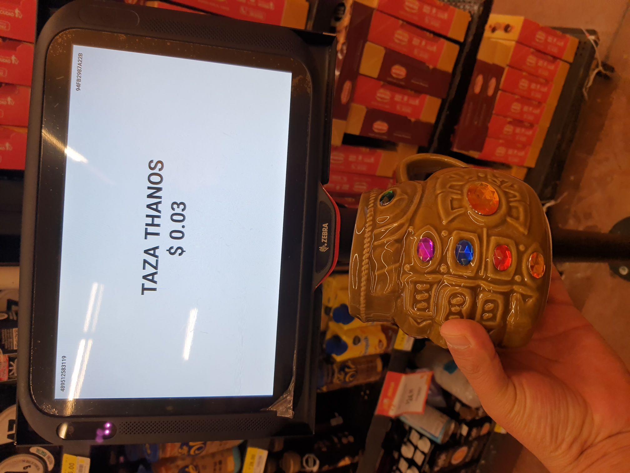 Walmart: Taza Thanos