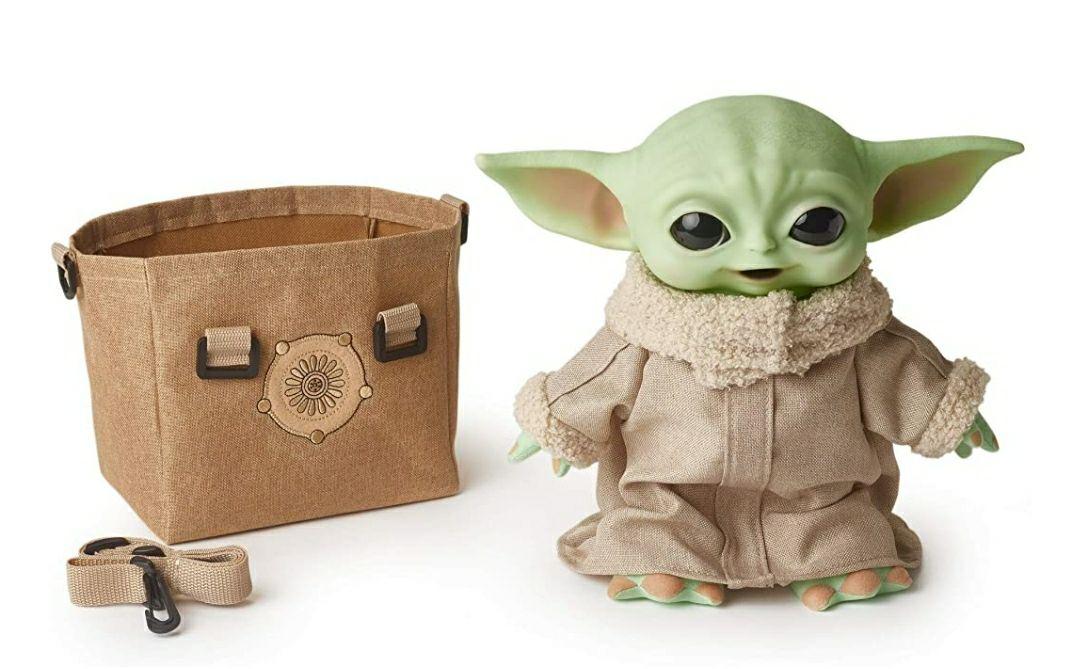 Amazon - Baby Yoda, Grogu, peluche de Mattel con sonidos