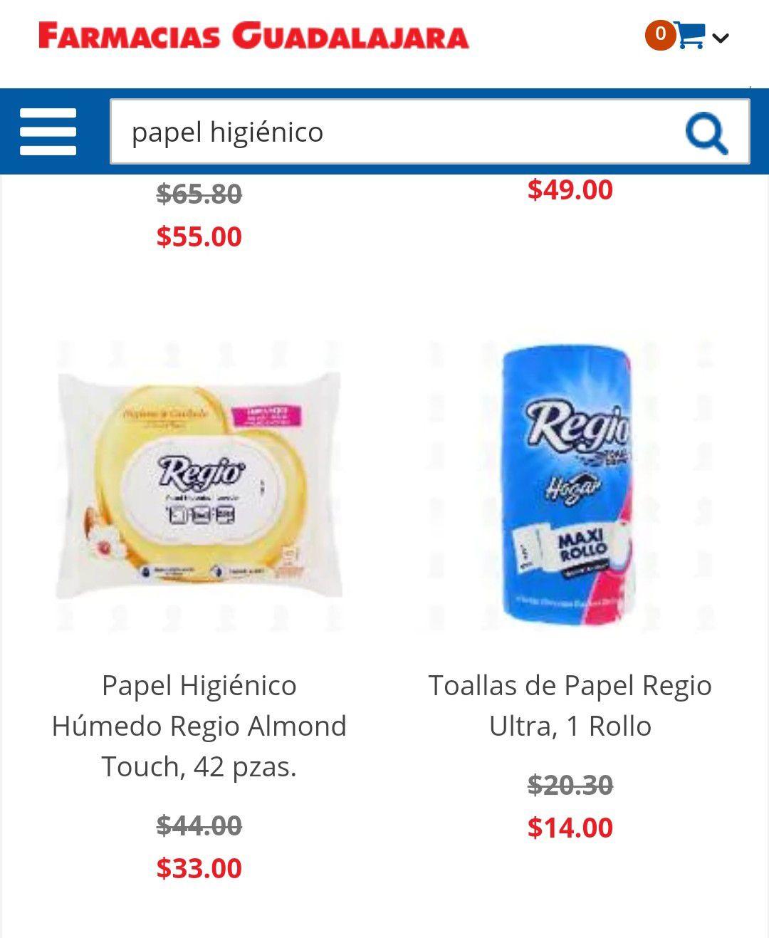 Farmacias Guadalajara, Servitoallas Regio excelente para la cocina en $14