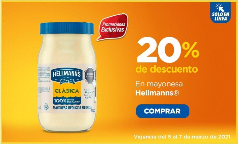Chedraui: 20% desc. mayonesas Hellmann's, atún Tuny 295 g, puré de tomate Del Fuerte 1 kg, legumbres y vegetales Herdez
