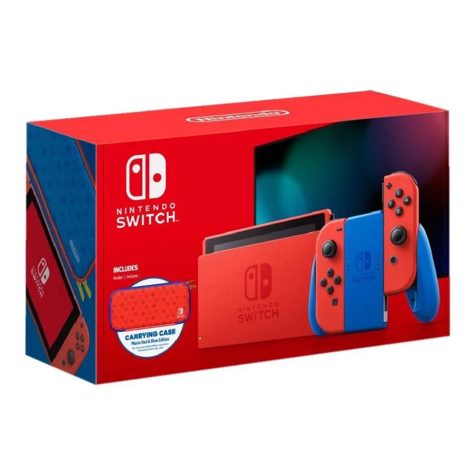 Walmart:Consola Nintendo Switch Red & Blue V 1.1 (citibanamex)