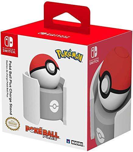 Amazon: Soporte de carga Poké Ball Plus con licencia oficial de Nintendo y Pokémon - Edición estándar