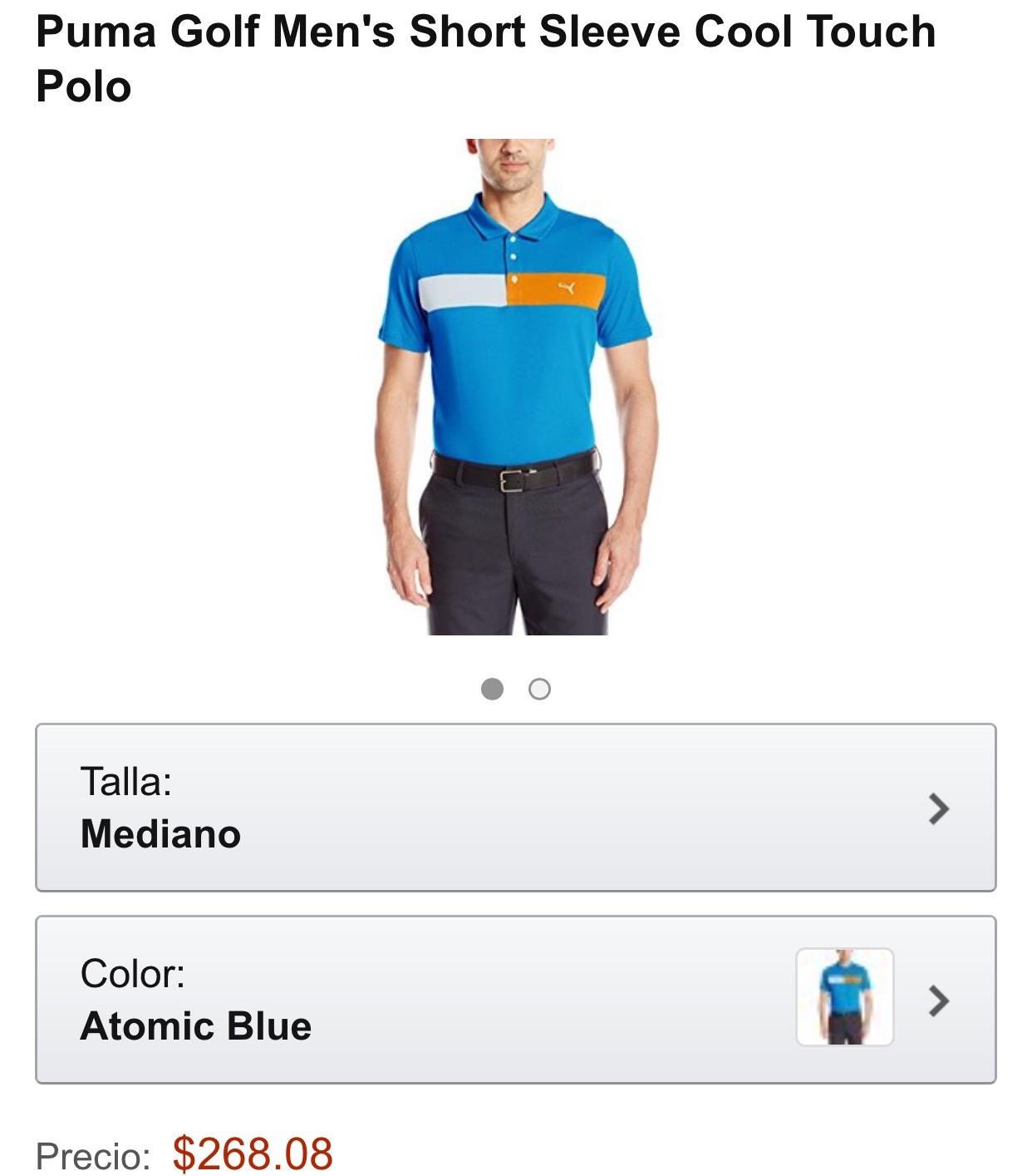 Amazon México: Polo Puma a $268.08