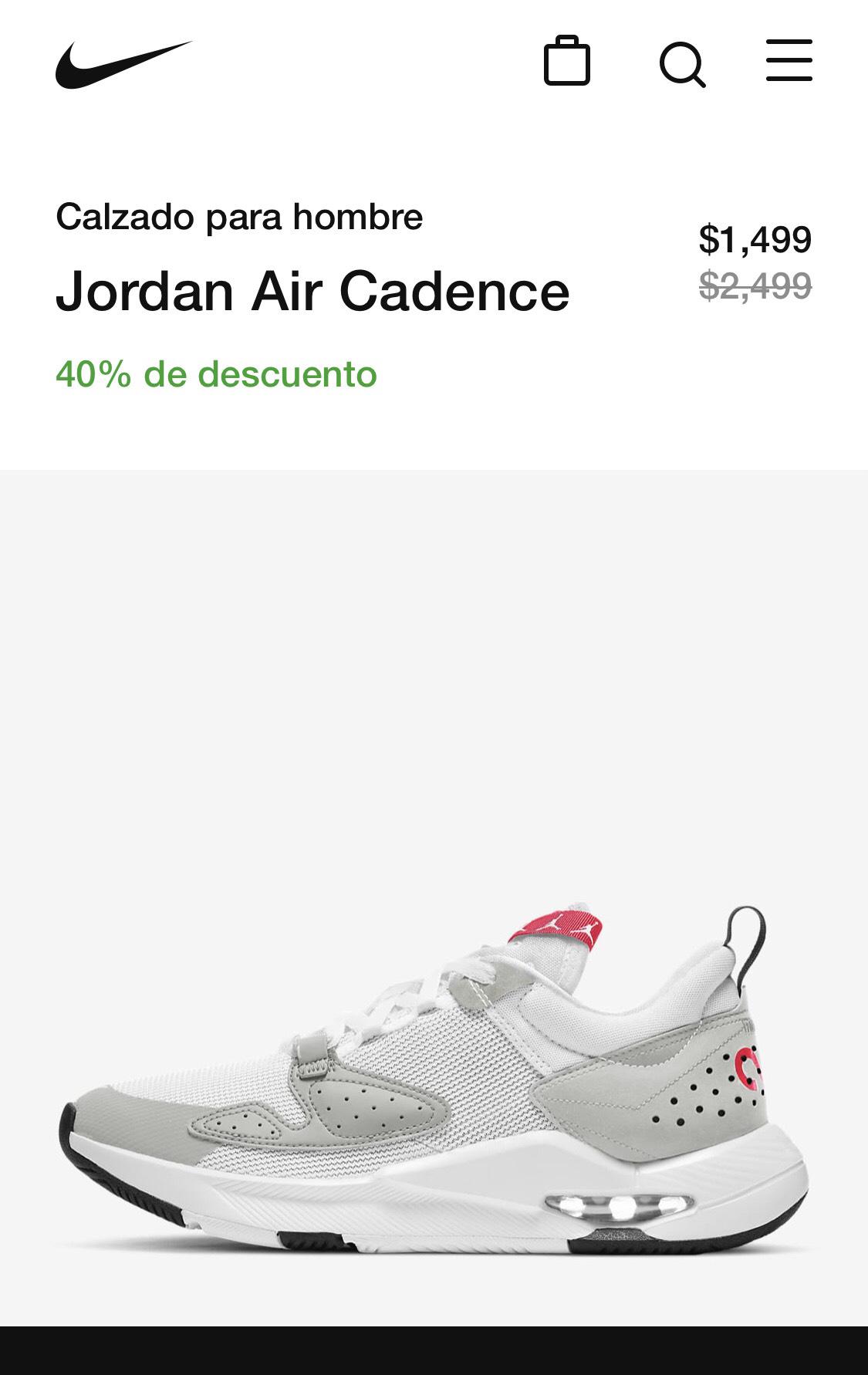 Nike: Jordan Air Cadence