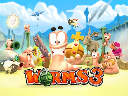 Google Play: worms 2 y worms 3 en oferta.