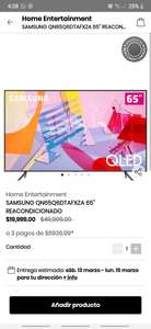 "Privalia Samsung Qled de 65"" REACONDICIONADA"