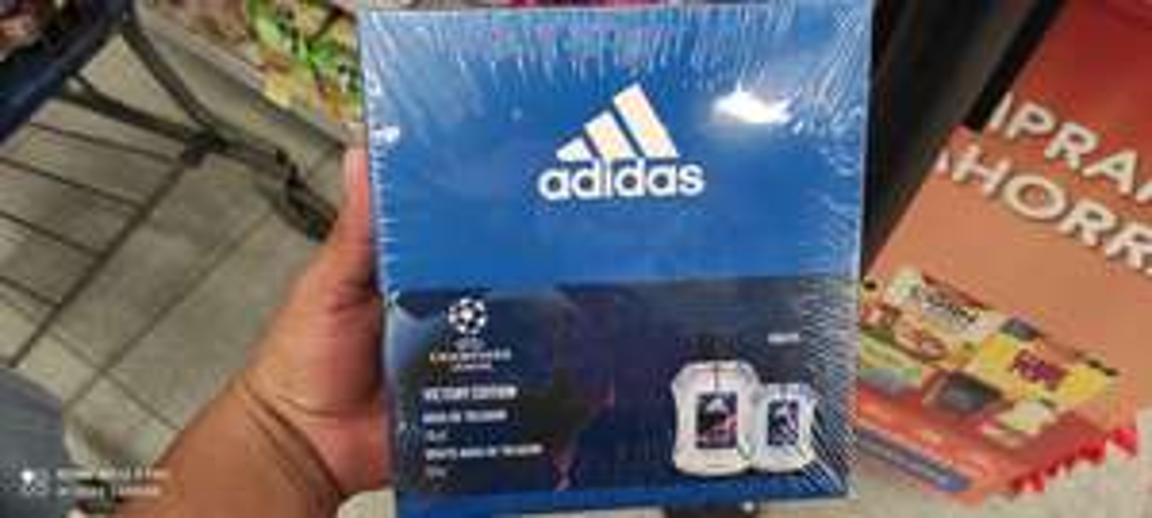 Walmart: Agua de tocador Adidas UEFA XMAS