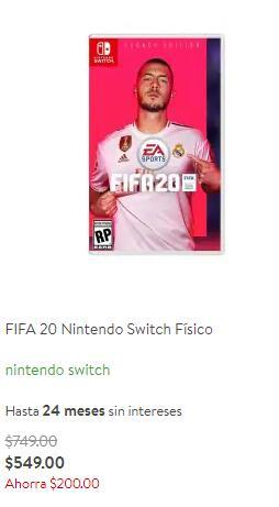Bodega Aurrera: FIFA 20 Switch