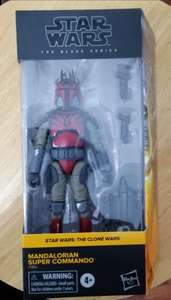 Walmart Town Center : Star Wars Mandalorian Black Series de $599 a solo $69.01