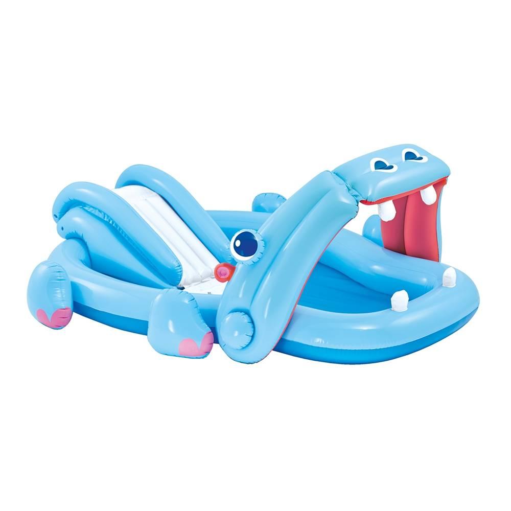 Walmart en línea: Alberca infantil Centro de Juegos Inflable Intex de Hipopótamo