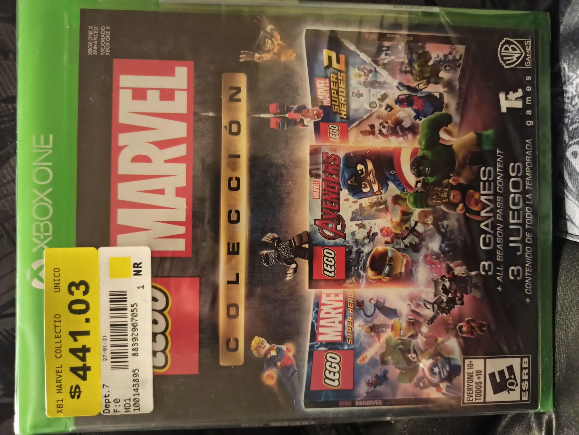 WalMart: Videojuego Xbox Lego Marvel Colección