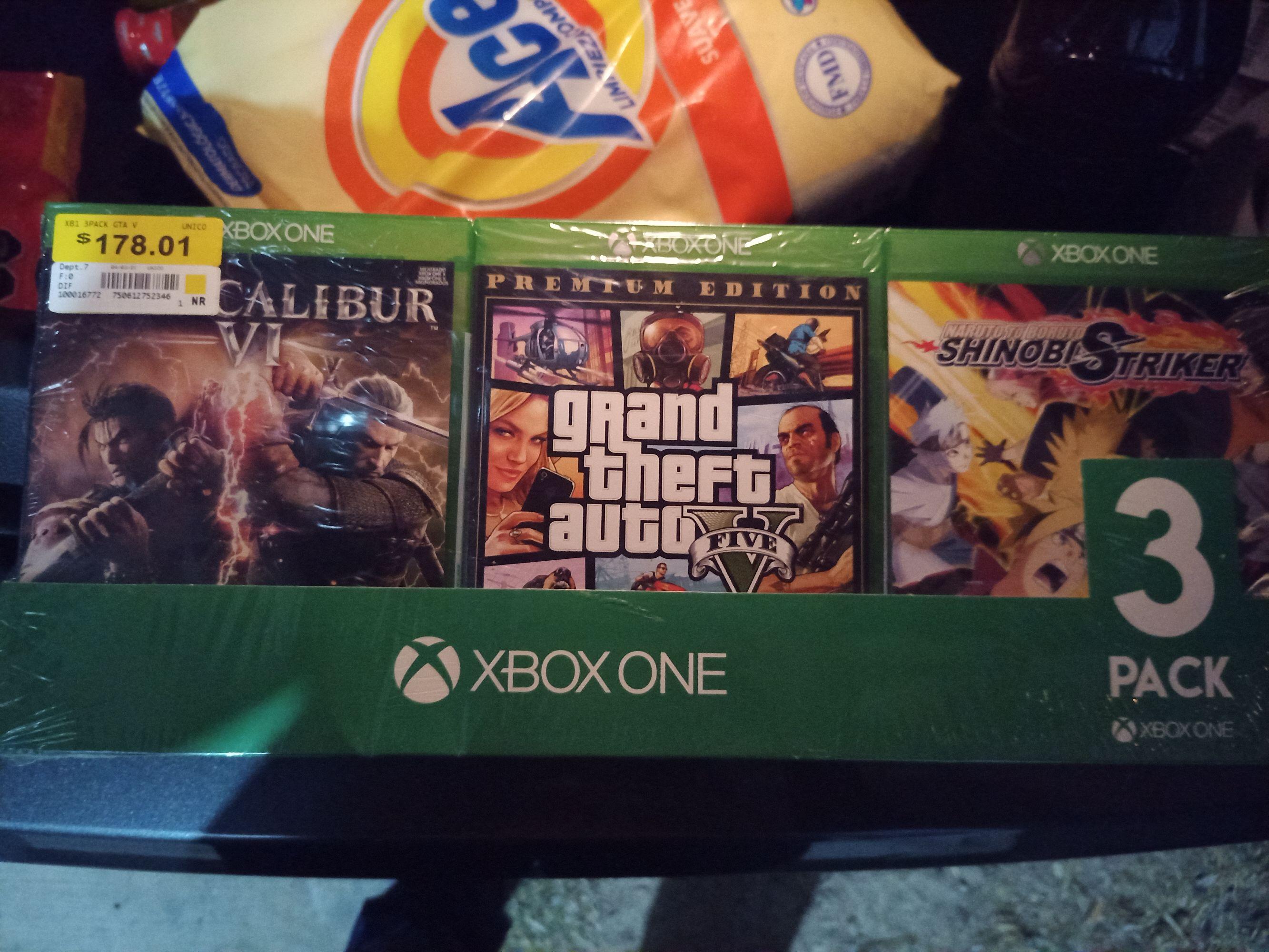 Walmart Triple pack juegos xbox