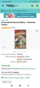 Amazon Overcooked! Special Edition para nintendo Switch