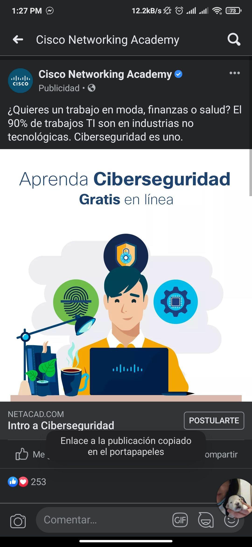 Cursos de ciberseguridad GRATIS
