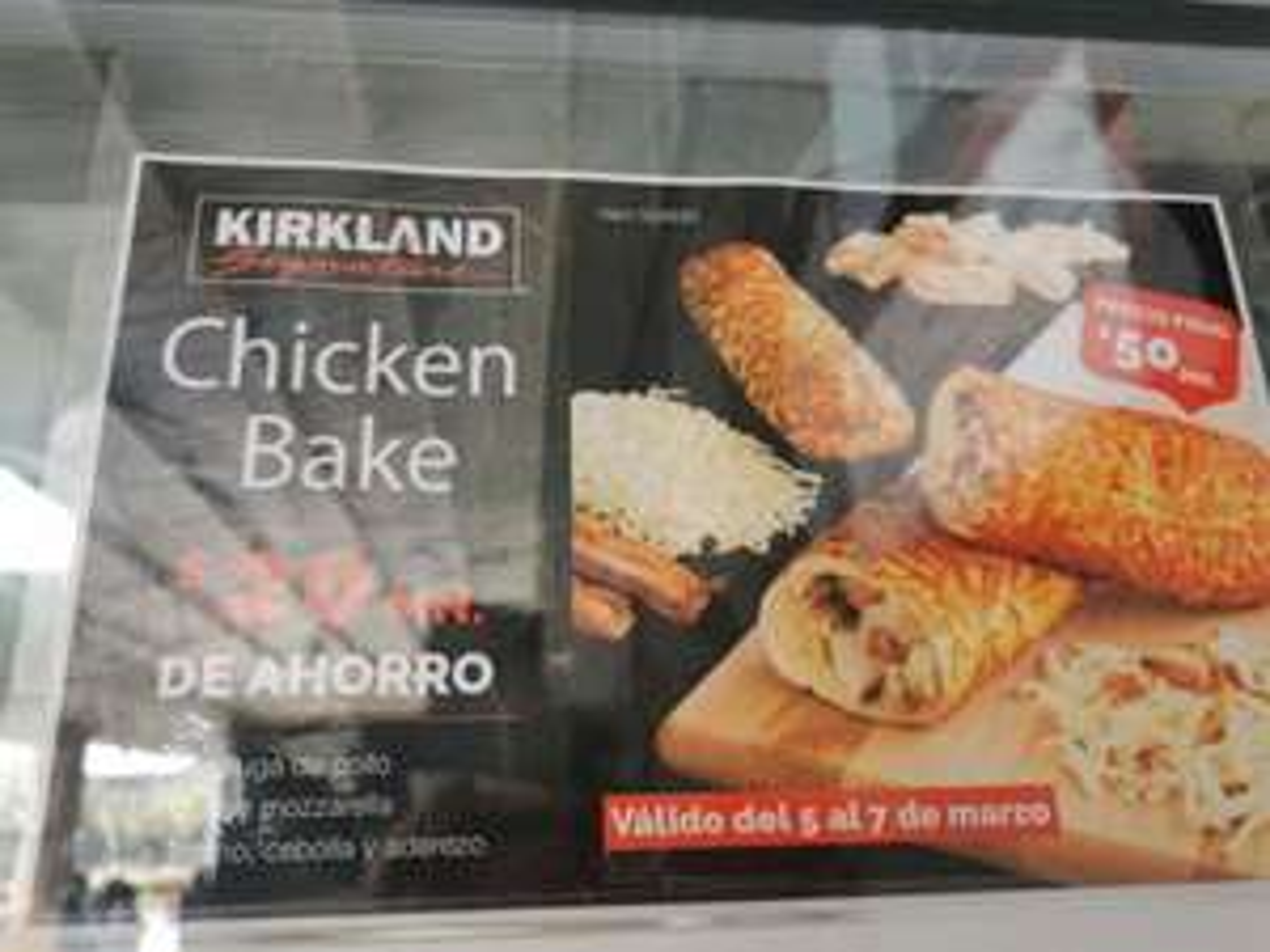 Chicken bake de costco