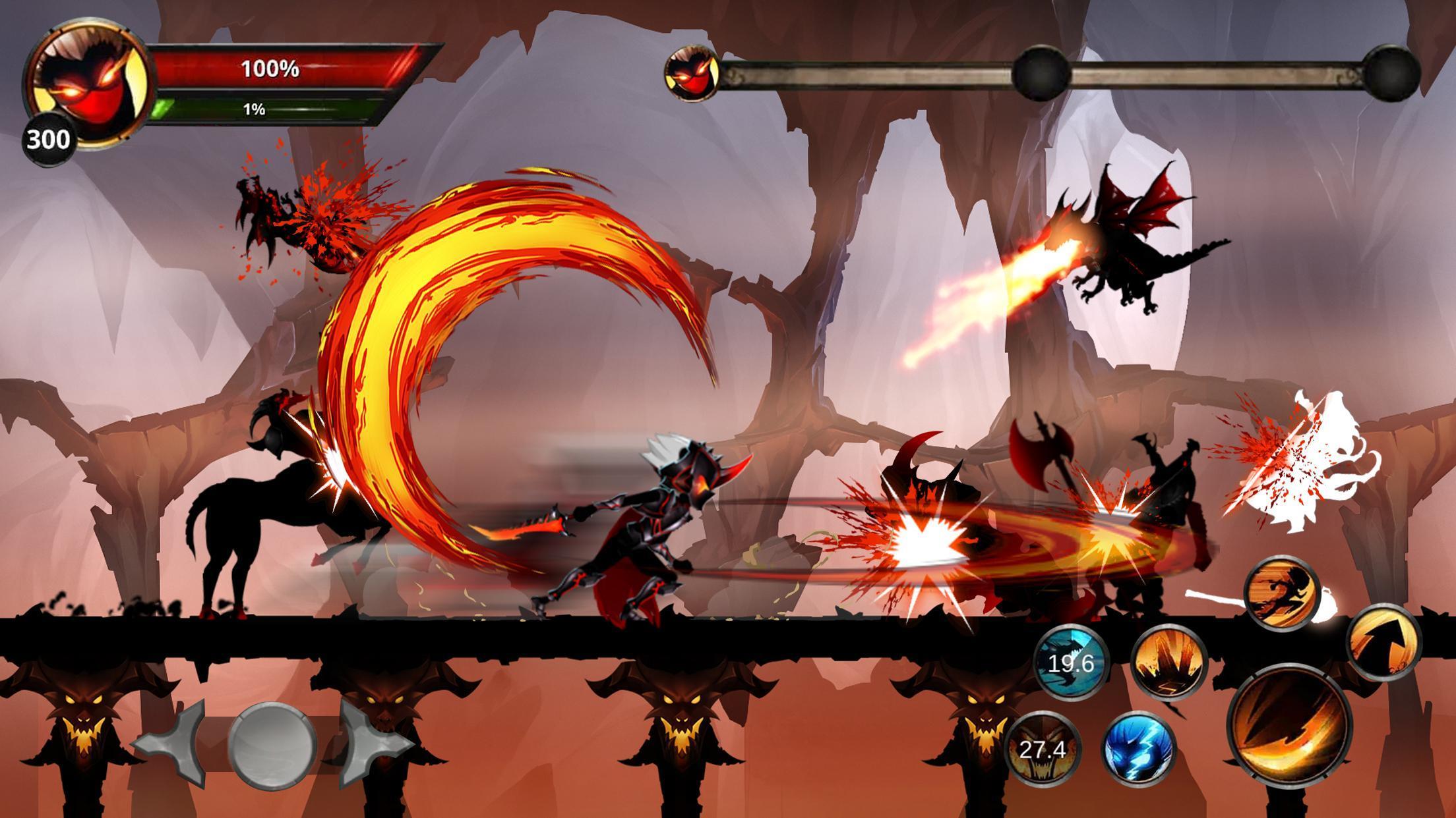 Google Play: Stickman Legends: Shadow War - Juego De Lucha RPG (con mas de 10M de descargas y puntuación de 4.3)