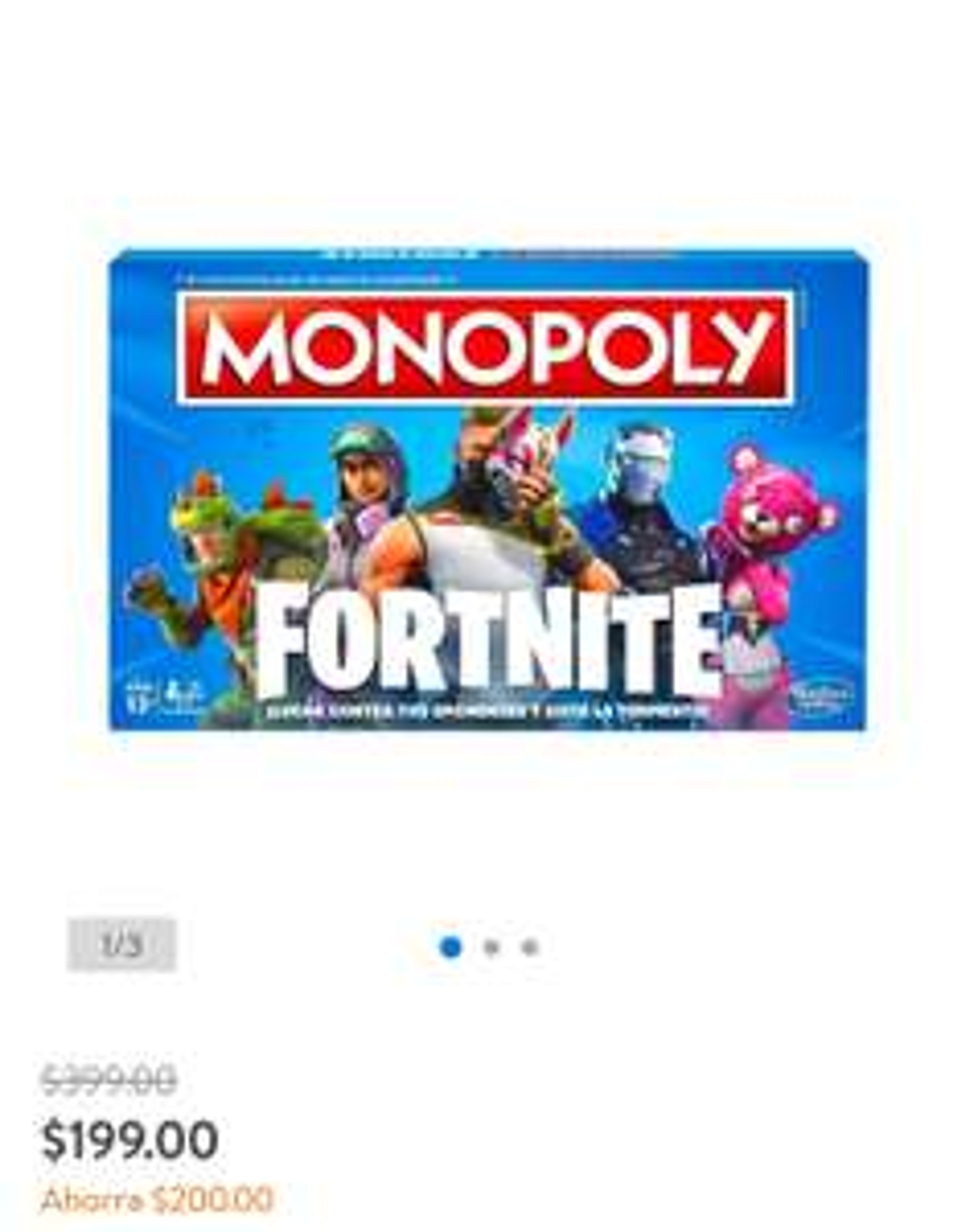 Walmart: Monopoly FORNITE