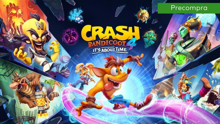 Nintendo eShop Argentina: Crash Bandicoot™ 4: It's About Time