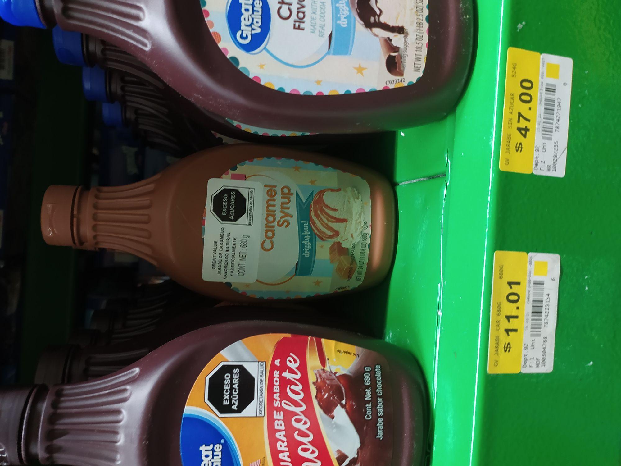 Bodega Aurrera: Jarabe caramelo en última liquidación