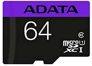 Amazon: Micro SDXC 64 GB Adata