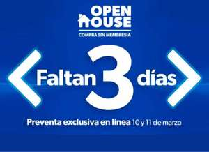 Sam's Club: Open House del 12 al 16 de marzo de 2021