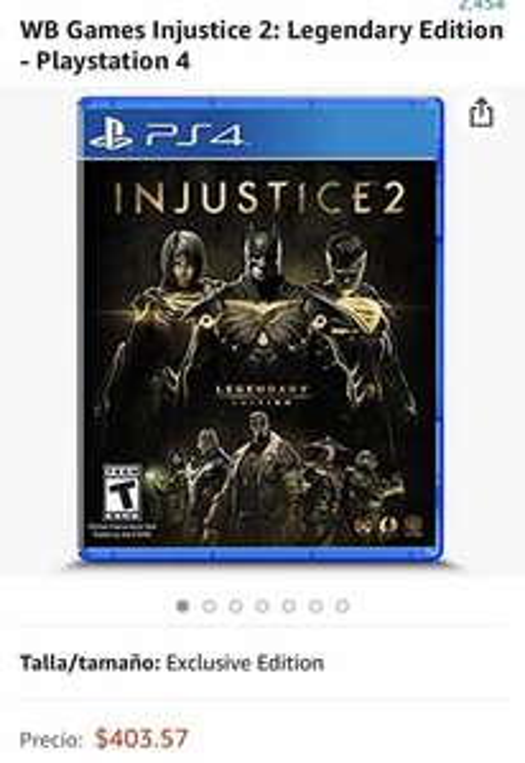 Amazon: Injustice Legendary Edition para PS4