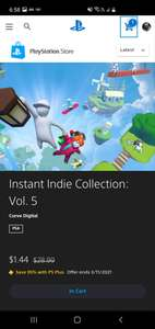 PSN: Instant Indie Collection vol.5 Ps4 con plus
