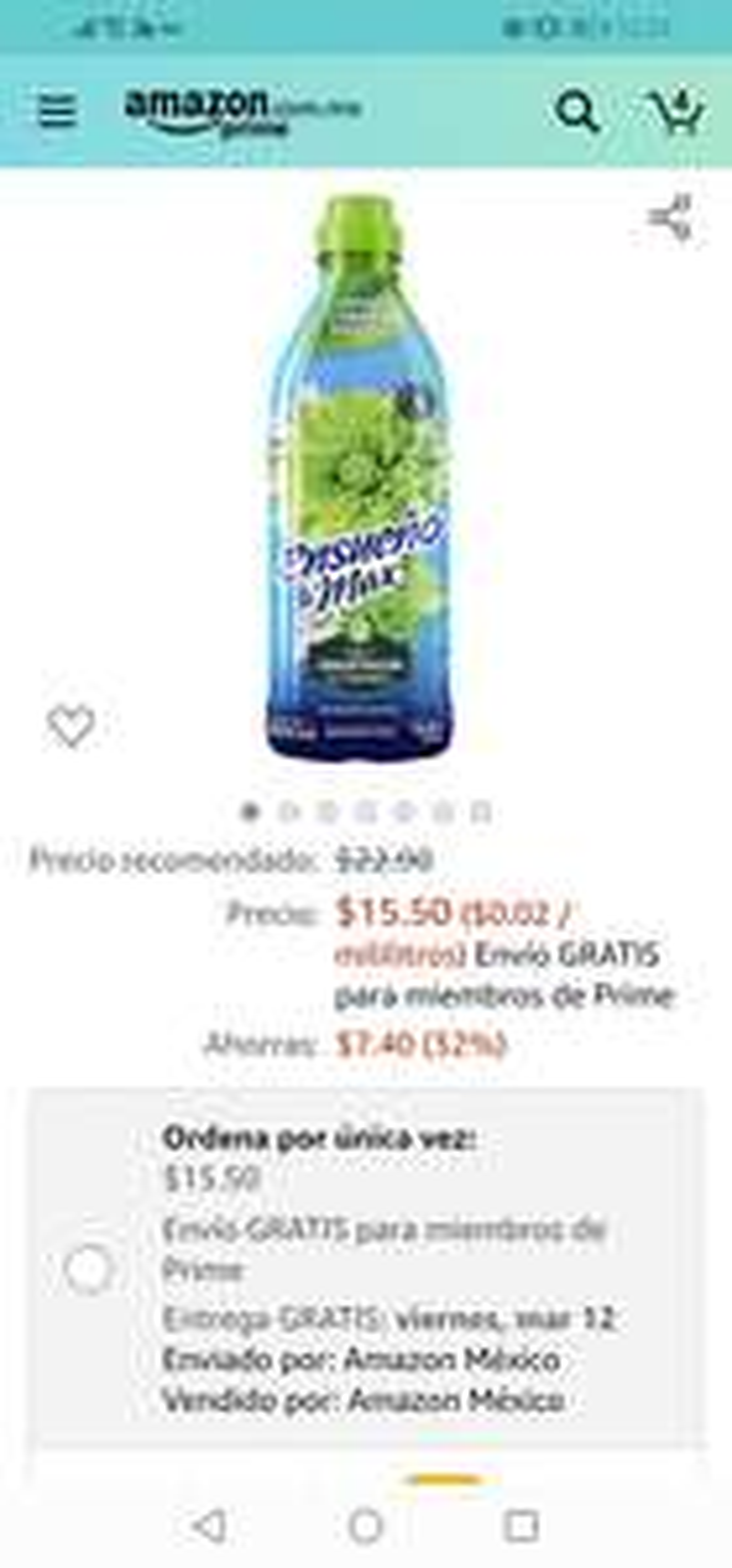 Amazon: Ensueño suavizante
