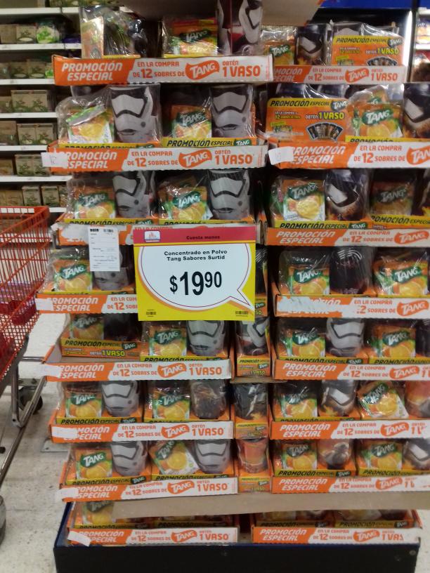 Chedraui: 12 sobres de Tang más vaso a $19.90