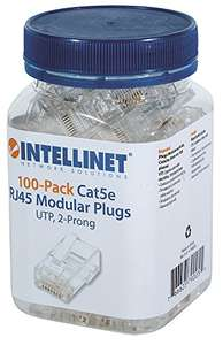 Amazon: Intellinet Plugs RJ45 Cat 5e