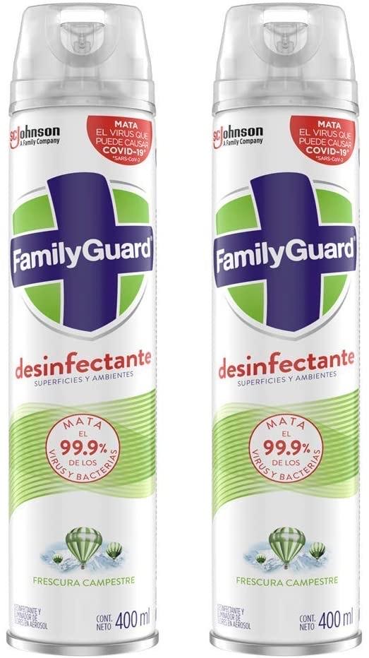 Amazon México: desinfectante Family Guard (antes Oust) a 2 x $107.86