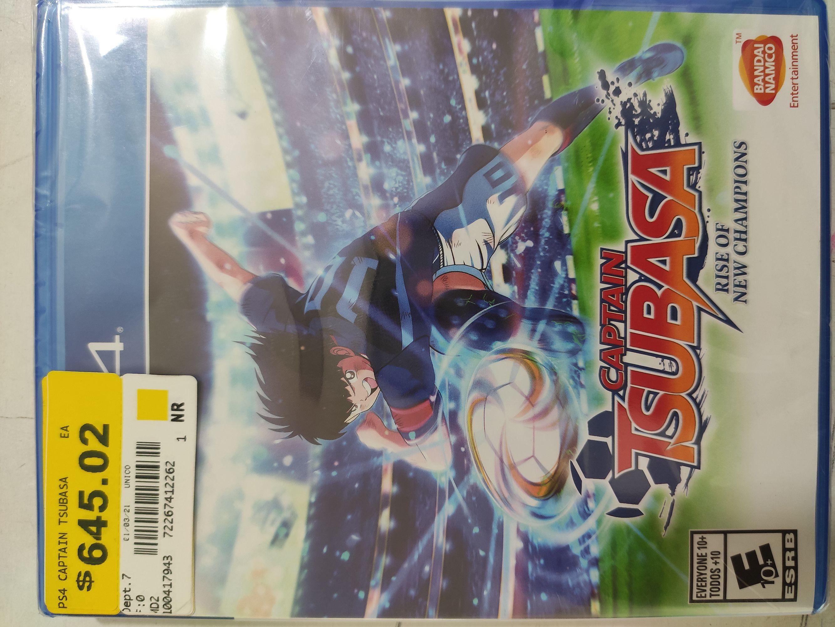 Bodega Aurrerá: PS4 juego capitán Tsubasa
