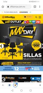 OfficeMax, Sillas de oficina 999