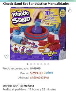 Amazon Mx: Kinetic Sand Set Sandtástico Manualidades