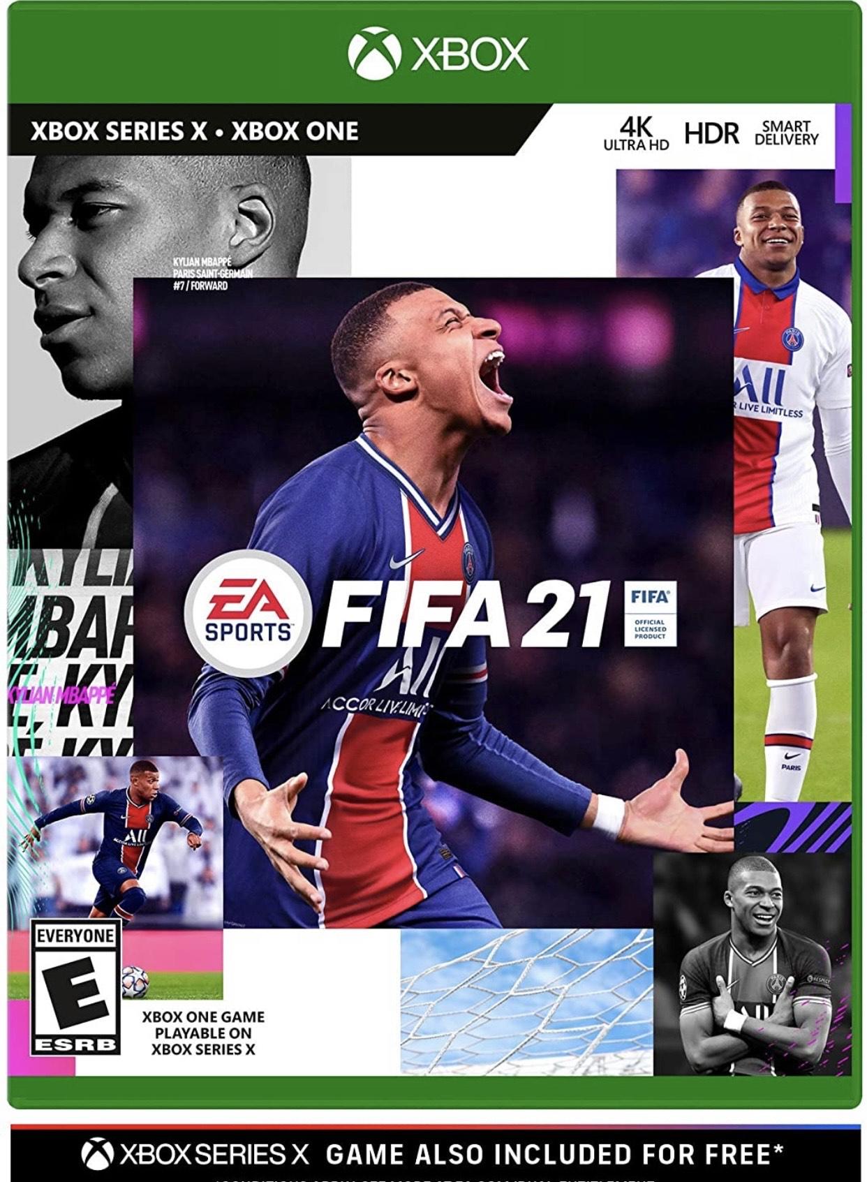 Amazon: Fifa 21 Xbox