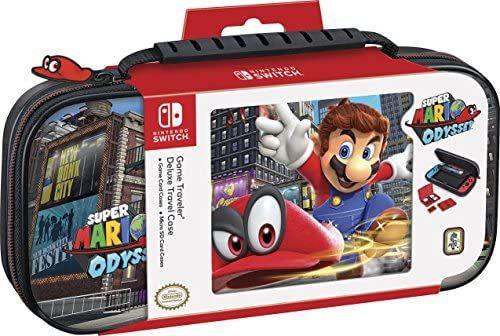 Amazon: Funda Nintendo Switch Super Mario Odyssey