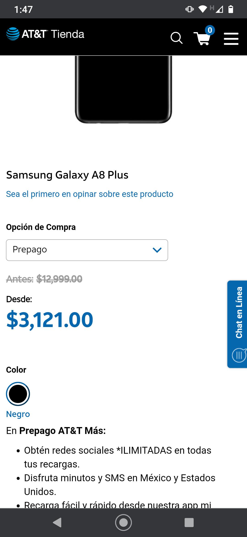 AT&T: SAMSUNG GALAXY A8 PLUS