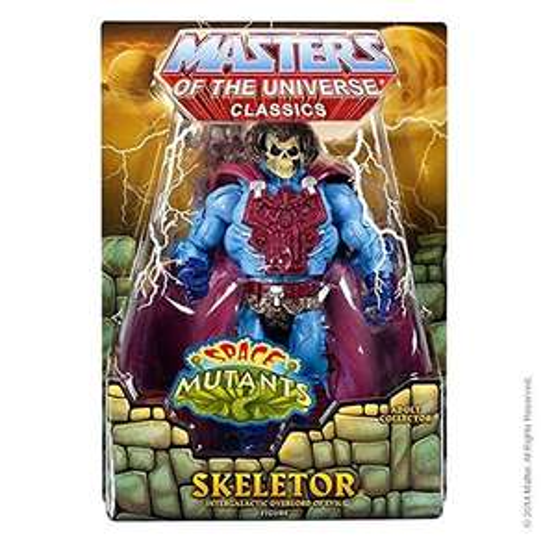 Amazon: Masters of the Universe Space Mutants Intergalactic Skeletor con cabeza para faker