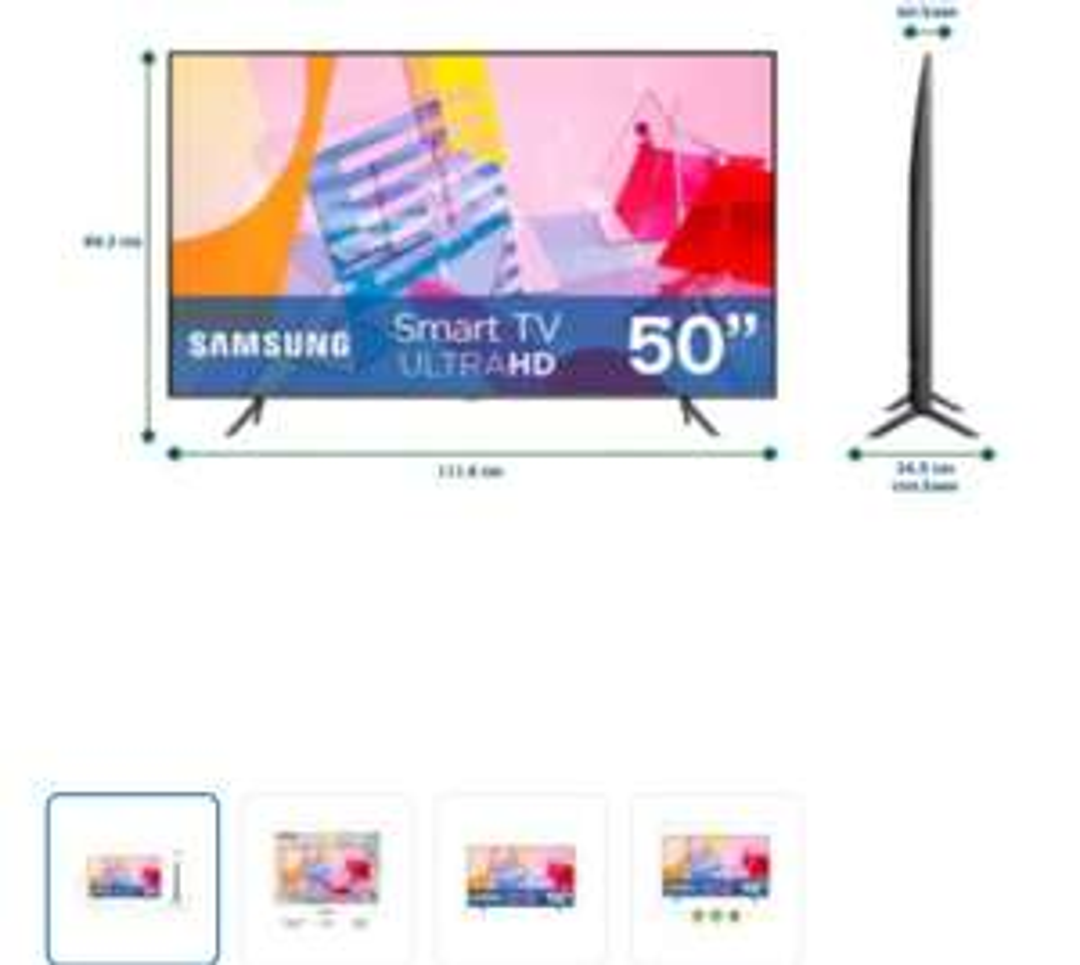 Sam's Club: Pantalla Samsung 50 Pulgadas Smart TV QLED