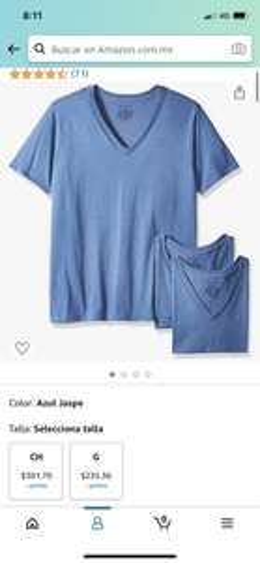 Amazon: Champion Camiseta Deportiva para Hombre paquete de 3