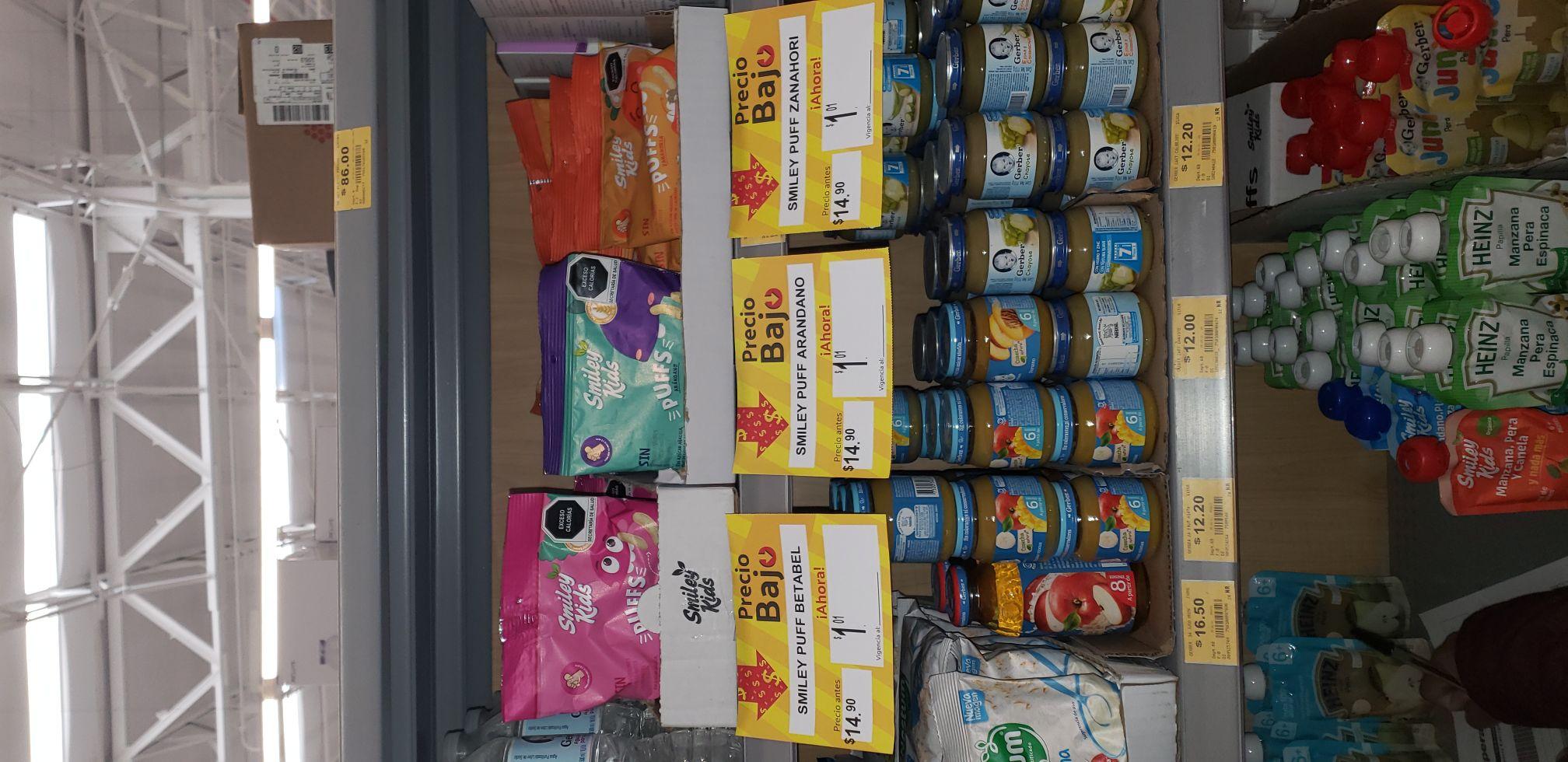 Última liquidación de snaks para bebes en superam acoxpa