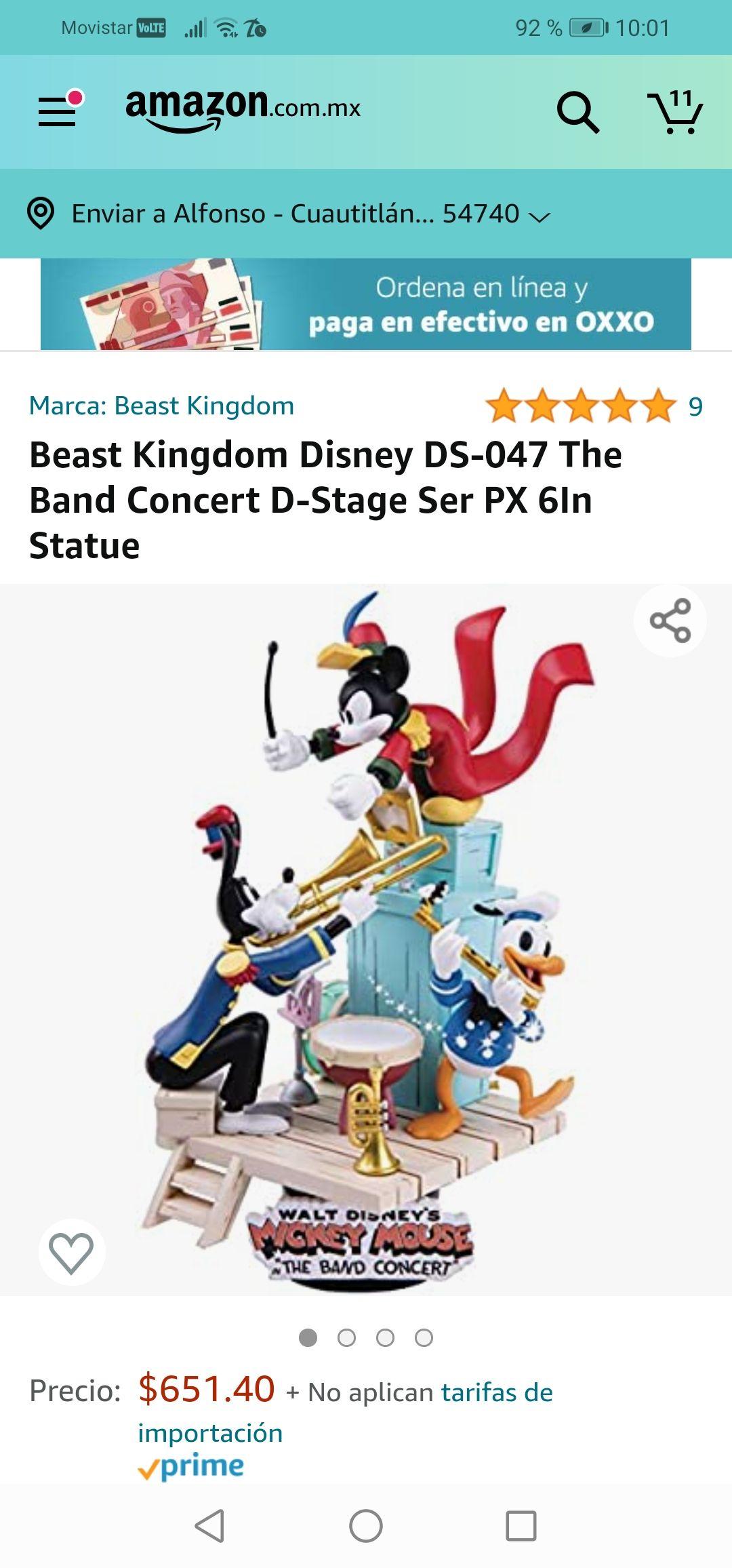 Amazon : Escultura de Disney