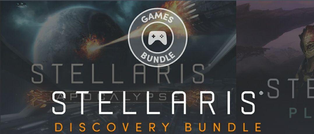 Humble Bundle: Stellaris Discovery.