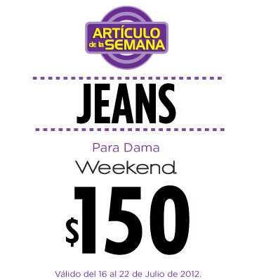 Artículo de la semana en Suburbia: jeans para dama a $150