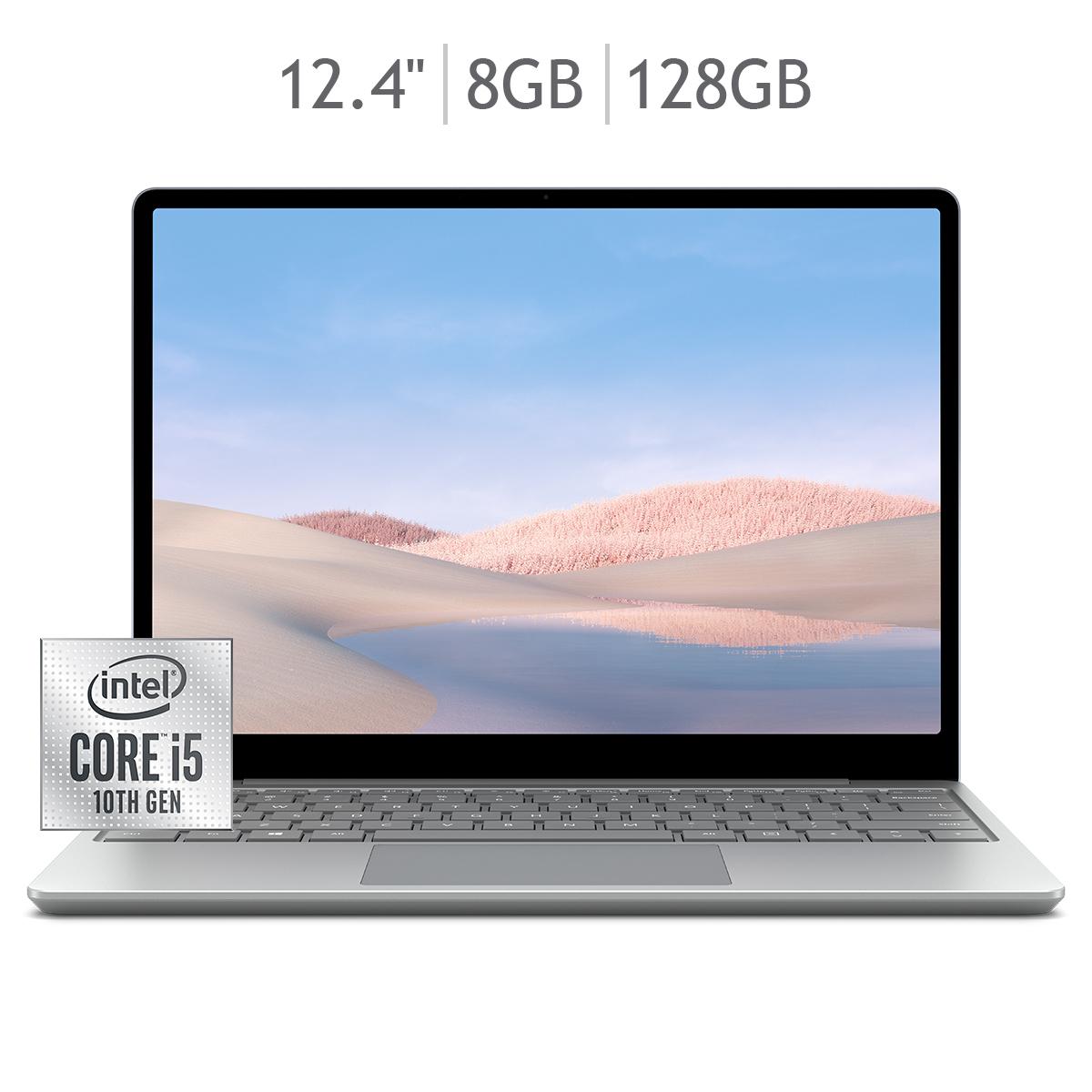 "Costco: Surface Laptop Go 12.4"" 128GB SSD/ 8GB RAM"