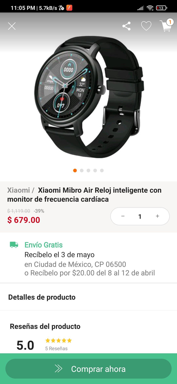 Linio: Xiaomi Mibro Air